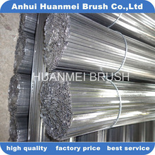 0.6mm*3.3mm flat steel wire for making road sweeper brushes material