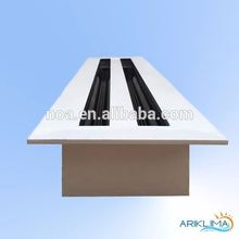 Customized sizes best prices modular diffuser aluminium linear slot diffuser air grill for ventilation SD