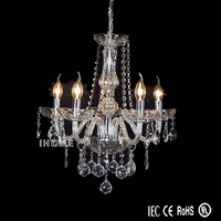 New design solutions international chandelier mounted crystal pendant ceiling light