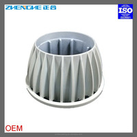 aluminum die casting led light heat sink covers