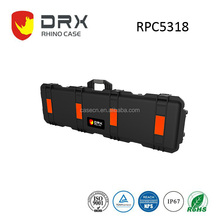 Popular DRX Hard Plastic Waterproof Rifle Gun Cases with Wheels