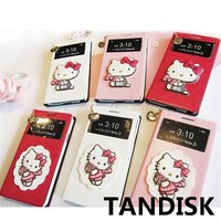 New KT cat mobile phone case Personalized cell phone accessories cartoon phone case