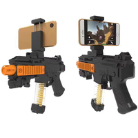 Bluetooth Control Toy AR Gun Augmented Reality Shooting Games Cell Phone Holder