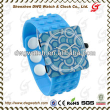 High Quality Unisex Square Funny Watches with Interchangeable Plastic Case