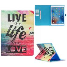 New Coming Wallet Style Card Holder Magnetic Flip TPU+ PU Leather Case for iPad Pro 12.9 inch