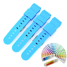 Top Sell High Quality Silicone Rubber Wrist Watch Strap