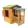 children eco-friendly beautiful cubby house factory price