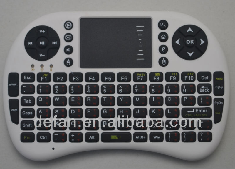 2.4g mini keyboard for smart tv for tablet pc wireless keyboard for android tv box