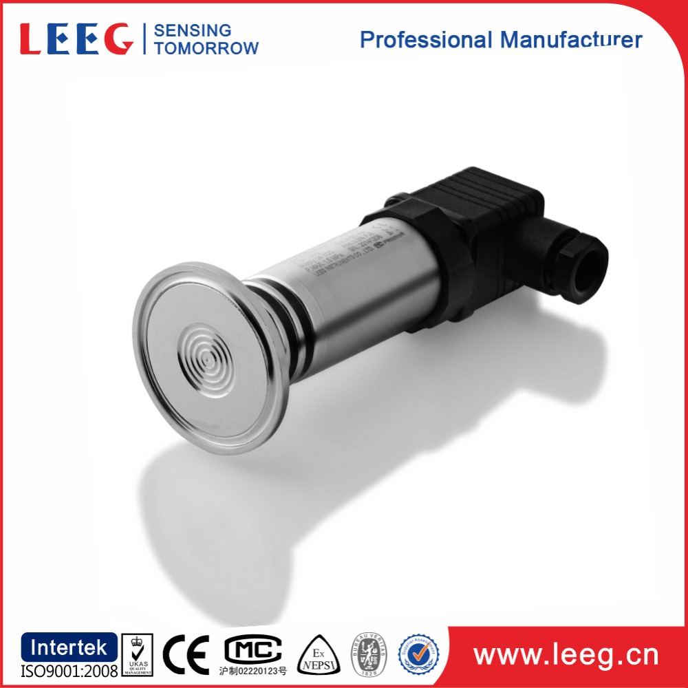flush diaphragm pressure transmitter for drinking water milk