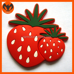 Funny Fruit Shaped Fridge Magnets Cute Refrigerator Toy