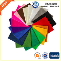 Colorful Needle puched polyester felt