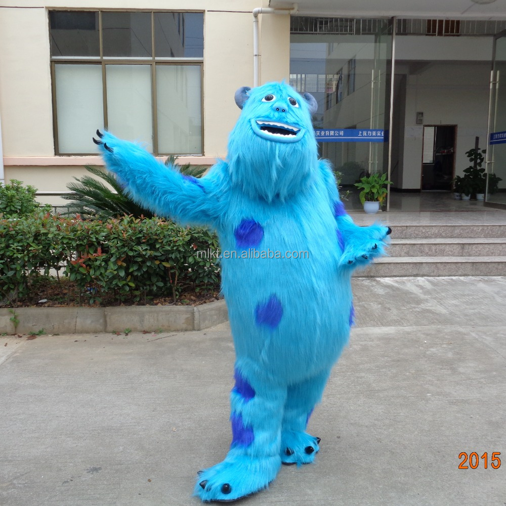 Crazy sale Christmas costumes monsters inc mascot costumes