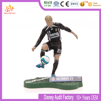 custom football player mini plastic figure for the world cup