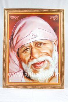 Sai baba photo frame