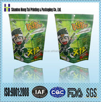 seaweed / sea weed flexible packaging custom printed heat seal plastic bag