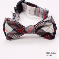 Popular Classic Paid Pet Clothes Accessory Cotton Animal Dog Bow Ties