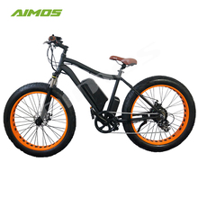 new 500W 48V big power Fat tire Mountain electric bike/750w snow electric bicycle dropship