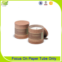 Wholesale Cheap Kraft Paper Tube Candle Jars Packaging