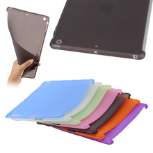Hot selling clear matte TPU tablet case for new iPad air , for ipad tablet accessories