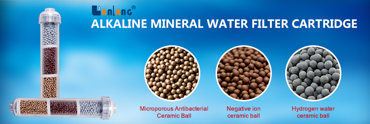 Alkaline Mineral water filter cartridge kangen water