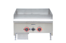 24 Inch Gas Griddle / USA Style / Countertop American Griddle
