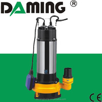 DAMING Stainless Steel Submersible Pump For Sewage Water (V-1100)