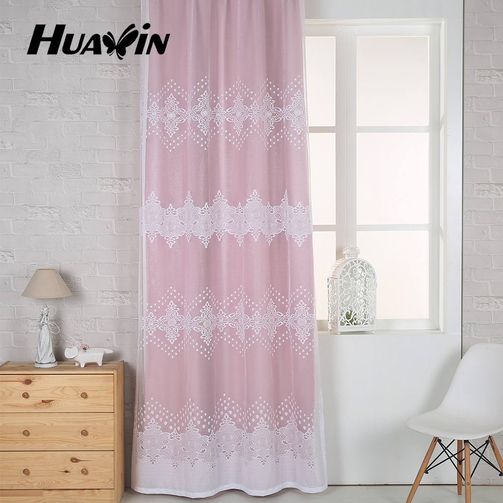 100% polyester continuous germany cheap lace curtain fabric
