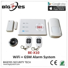 Simple security for property Usage iHomeware Intrusion 3G WiFi GSM Alarm System DIY Kit