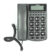 English/Spanish Pre-dial talking number function Corded ID telephone