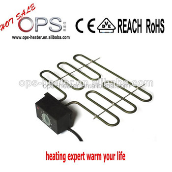 ops electric heating element with temperature control