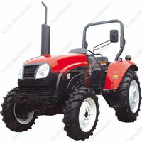 Active demand mini tractor with plow