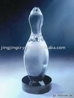 Hot sale new beautiful bowling trophy
