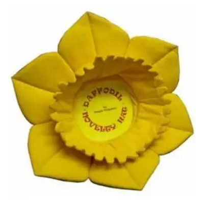 factoery cheap price flower magic Fun Daffodil Novelty Hat