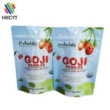 China Custom Printed Laminated Aluminum Foil Resealable Stand Up Pouch With Zipper For Food Packaging