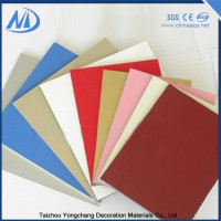 Excellent heat facade exterior aluminum composite panel