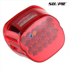 22 LED RED Taillight motorcycle lamp back signal light for Harley