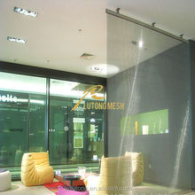 Stainless steel screen mesh for interior partition/exterior building facade