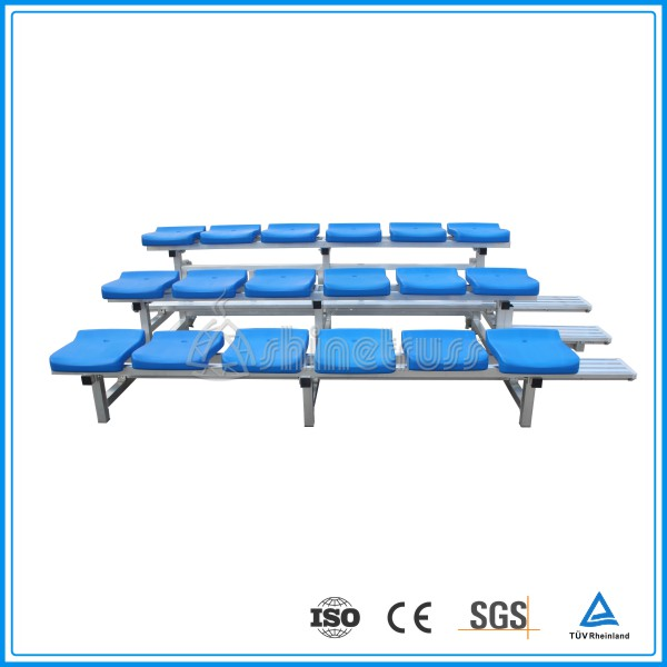 corrosion resistance tennis folding stadium seating system outdoor bleacher chair