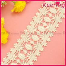 cheap wholesale natural color bridal crochet cotton lace trim WLC-156