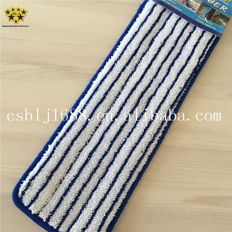 "Wholesale Floor Cleaning Mop Cloth 18"" Mop pads square mop heads"