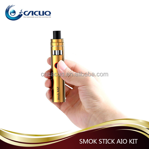 100% Original SMOK Stick AIO 1600 mAh Capacity Kit With 2ml Tank