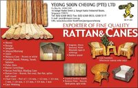 Rattan And Bamboo Materials