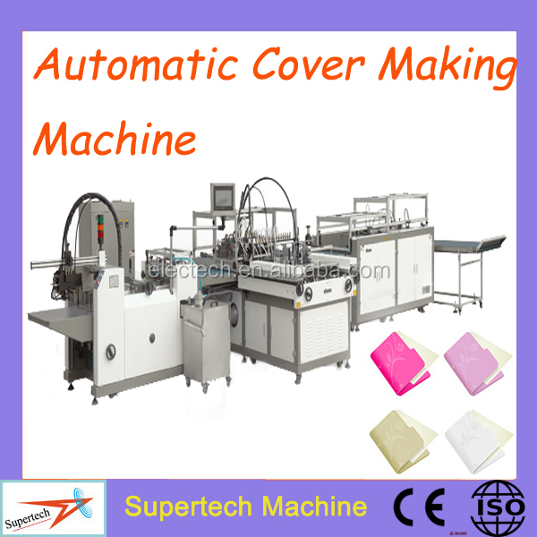 Book Covering Machine ~ High quality automatic hard cover book making machine
