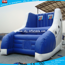 cheap inflatable game/small inflatable basketball game