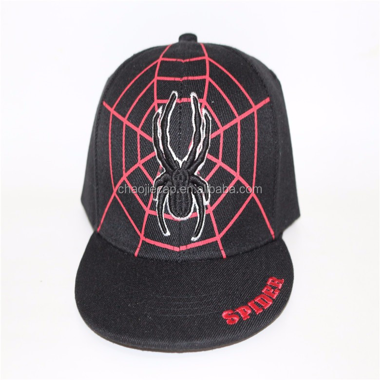 Custom Snapback Cap With Embroidery Printing logo