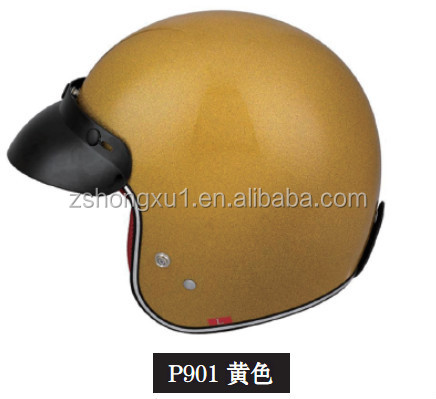 Stylish ECE Certificated Half Face Motorcycle Helmet P901