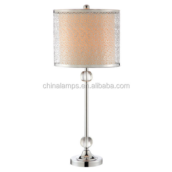 From China Supplier Cheap Crystal Table Lamps With Round