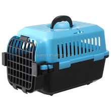 Hot selling plastic pet dog cat carrier airline approved dog cage IATA