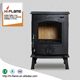 HiFlame 800 Sq.Feet Heating Area Indoor Cast Iron Woodburning Stove HF317