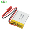 2018 hot sale 3.7v lipo battery 160mAh rechargeable battery as wholesale batteries